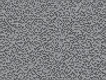 Gray plaid seamless. Mosaic pattern, background, texture Stock Photo