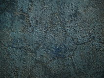 Gray plaster. Old plaster on a gray wall Stock Photography