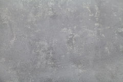 Gray plaster texture background, neutral concrete wall Royalty Free Stock Photo