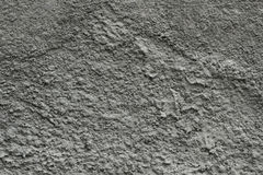 Gray plaster textured background Stock Image