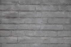 Gray Plastered Brick Wall Background Texture Royalty Free Stock Photos