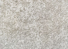 Gray plastered wall royalty free stock photo