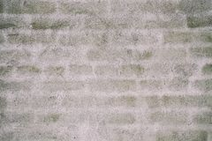 Gray plastered wall Stock Photography