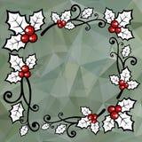 Gray Polygonal-achtergrond Royalty-vrije Stock Fotografie