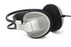Gray professional headphones Stock Image