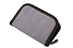 Gray purse Stock Photos