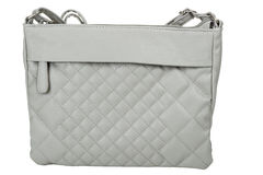 Gray purse Stock Photo