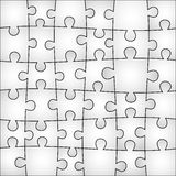 Gray puzzle background Royalty Free Stock Images