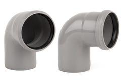 Gray pvc pipe Royalty Free Stock Photo