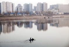 Gray Pyongyang Stock Image