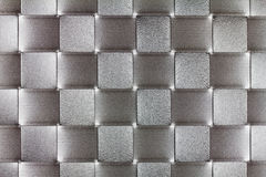 Gray rectangles pattern Stock Images