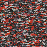 Gray and red camouflage. Typical seamless camouflage pattern in red and gray colors Royalty Free Stock Photography
