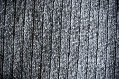 Gray regular striped and woven material background or texture Stock Images