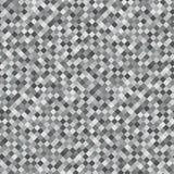Gray Rhombus Mosaic Background seamless modell Abstrakt oväsentextur Geometrisk stil vektor royaltyfri illustrationer