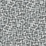 Gray Rhombus Mosaic Background. Seamless Pattern. Abstract Noise Texture. Geometric Style. Vector royalty free illustration