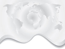 Gray ripple map Stock Images