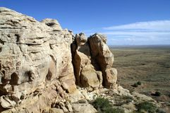 Landscape of the Indian Reservation in Arizona, USA Stock Photos