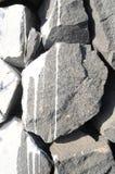 Gray Rock Ancient Wall Fotos de archivo libres de regalías