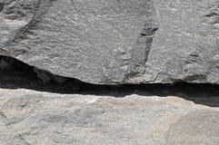 Gray Rock Ancient Wall Stock Photography