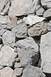 Gray Rock Ancient Wall Stock Photos