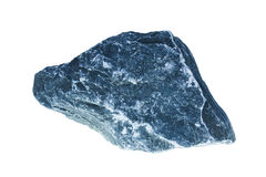 Gray rock isolate Stock Photography