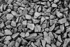Gray Rocks Background Texture. Close up of Gray Rocks Background Texture. Big pebbles Stock Photos
