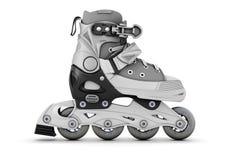 Gray roller skate side view Stock Image