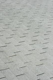 Gray roof shingles Stock Photo