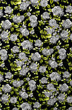 Gray rose fabric background, Fragment of colorful retro tapestry Royalty Free Stock Photos