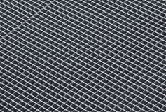 Gray rough metal grid background texture Royalty Free Stock Images