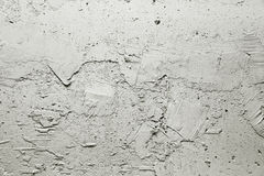 Gray rough plaster Stock Photo