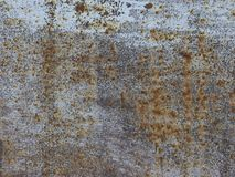 Gray rusted metal background Royalty Free Stock Photos