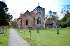 Gray's Elegy Church in Stoke Poges England Royalty Free Stock Photos