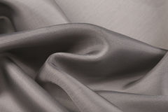 Gray satin Stock Photography