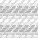 Gray Scale Abstract Modern Pattern sans couture des triangles Photo stock