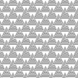 Gray Scale Abstract Modern Pattern sans couture des triangles Photos libres de droits