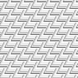 Gray Scale Abstract Modern Pattern senza cuciture dai triangoli Fotografie Stock