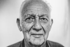 Gray Scale Photo of Man Royalty Free Stock Images