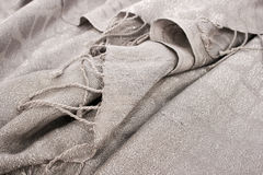 Gray scarf Stock Images