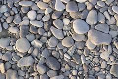 Gray sea stones Royalty Free Stock Photos