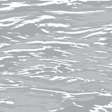 Gray_sea_with_sunset illustration stock