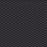 Gray seamless background. Dark gray wave seamless background royalty free illustration