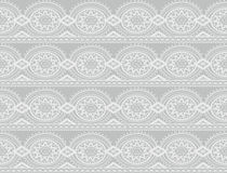 Gray seamless damask pattern Royalty Free Stock Image