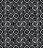 Gray seamless flower pattern Royalty Free Stock Photos