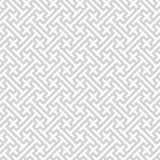 Gray seamless geometric vector background Royalty Free Stock Photos