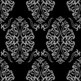Gray seamless ornament Stock Photography