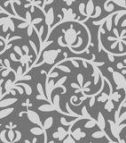 Gray Seamless Pattern. Royalty Free Stock Images