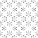Gray seamless pattern on white background. Light gray floral ornament on white background. Seamless pattern for textile and wallpapers Royalty Free Stock Image