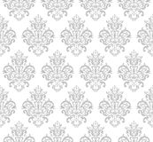 Gray Seamless Repeating Vector Pattern Photos libres de droits