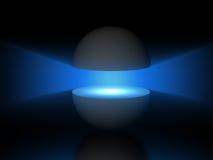 Gray Semi sphere Royalty Free Stock Photography